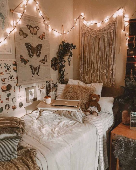 Dorm Room Styles: 22 Gorgeous Neutral Dorm Room Ideas