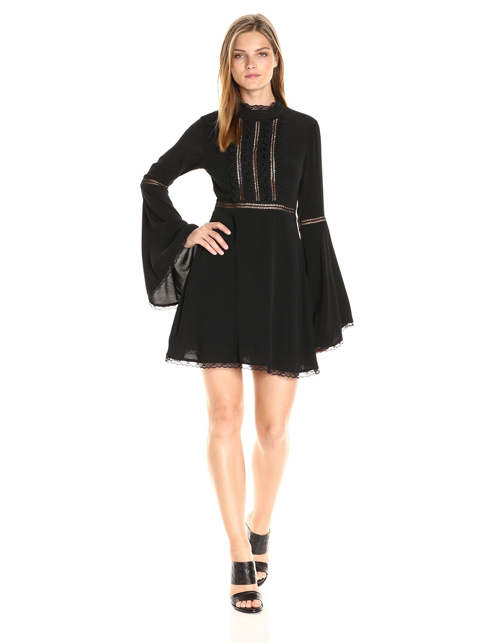 For Love Bell Sleeve Dress Clothes Design Short Mini Dress [ 2560 x 1969 Pixel ]