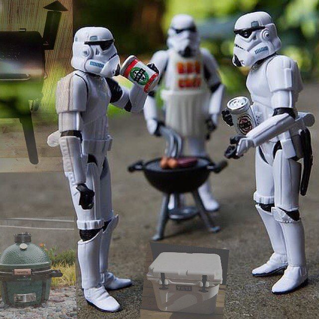 May The Fourth Be With You Recipes: May The 4th Be With You. #StarWars #BigGreenEgg#MiniMax