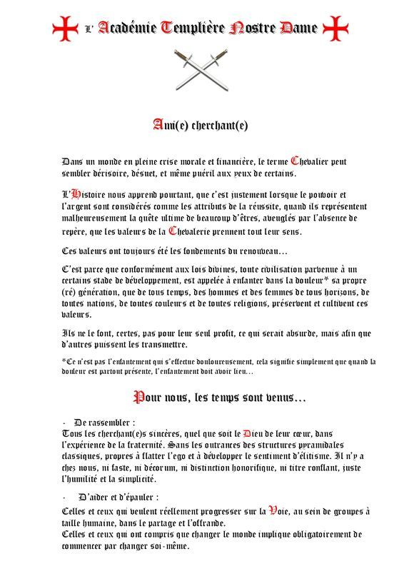 Manifeste 3 Je Te Veux Reussite Le Moral