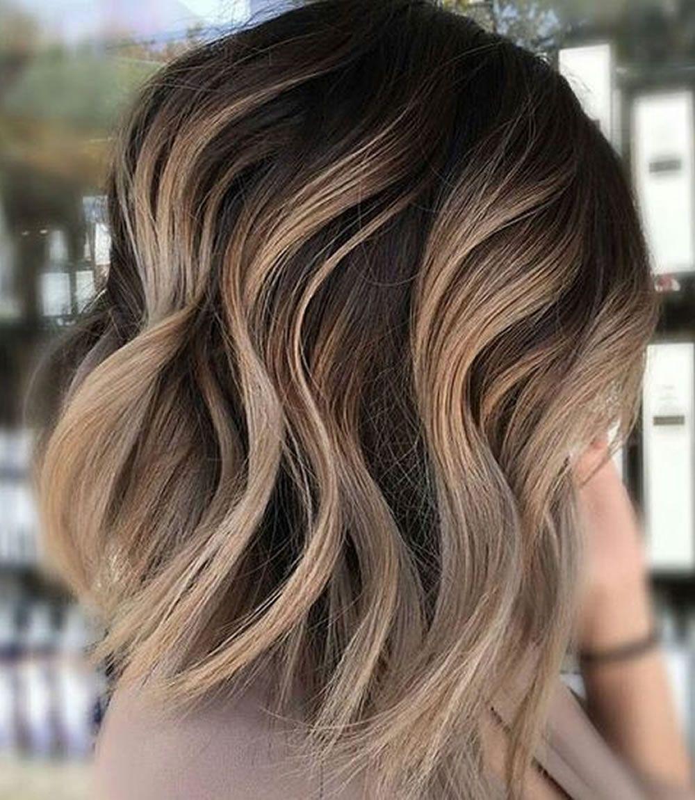 Colored short hairstyles 15 unique hair color ideas
