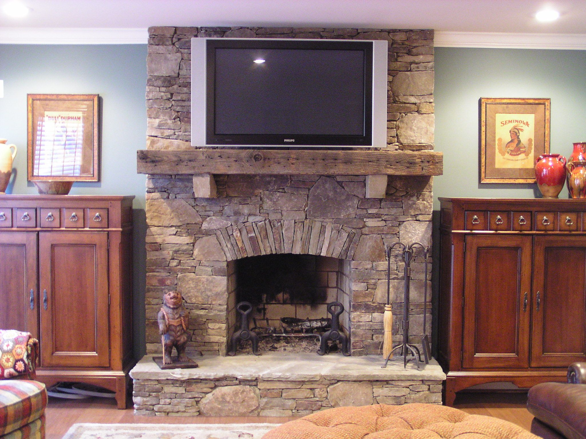 Fireplaces minus tv home pinterest living rooms fireplace