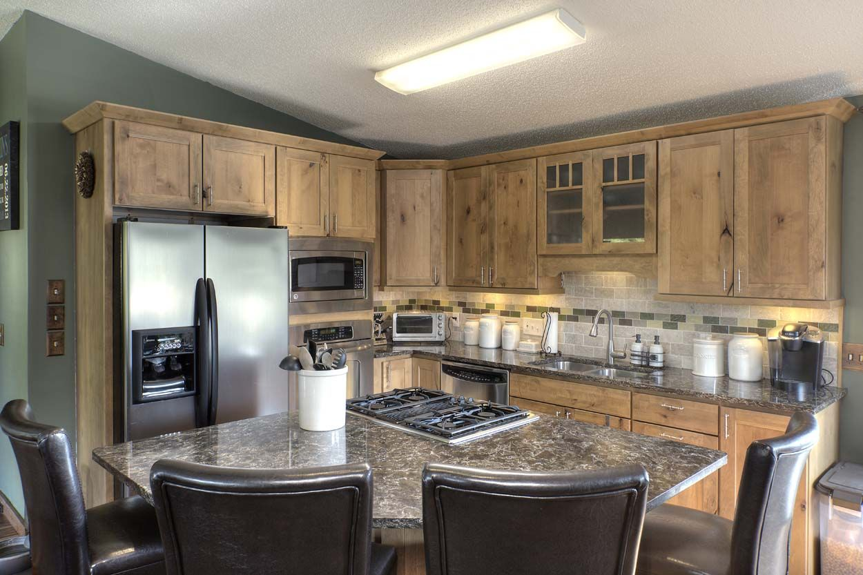 kitchen design traverse city a kitchen remodel in traverse city michigan is naturally 988