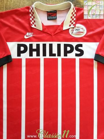 save off f4e71 f793c Relive PSV's 1995/1996 season with this original Nike PSV ...