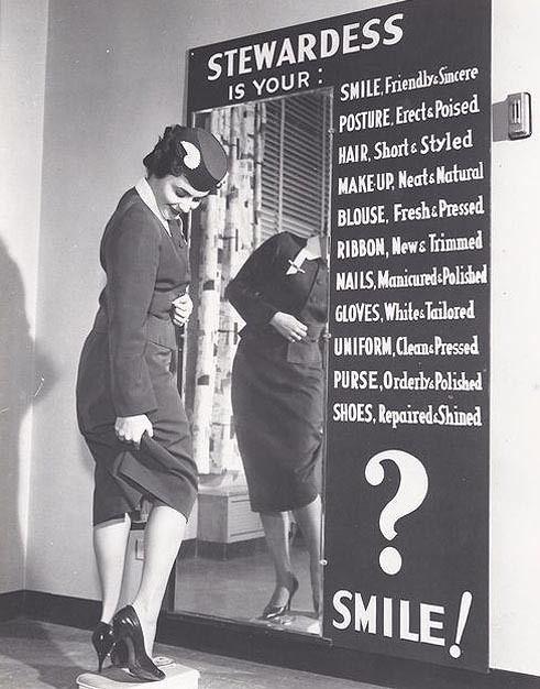 Stewardess Guidelines, 1960
