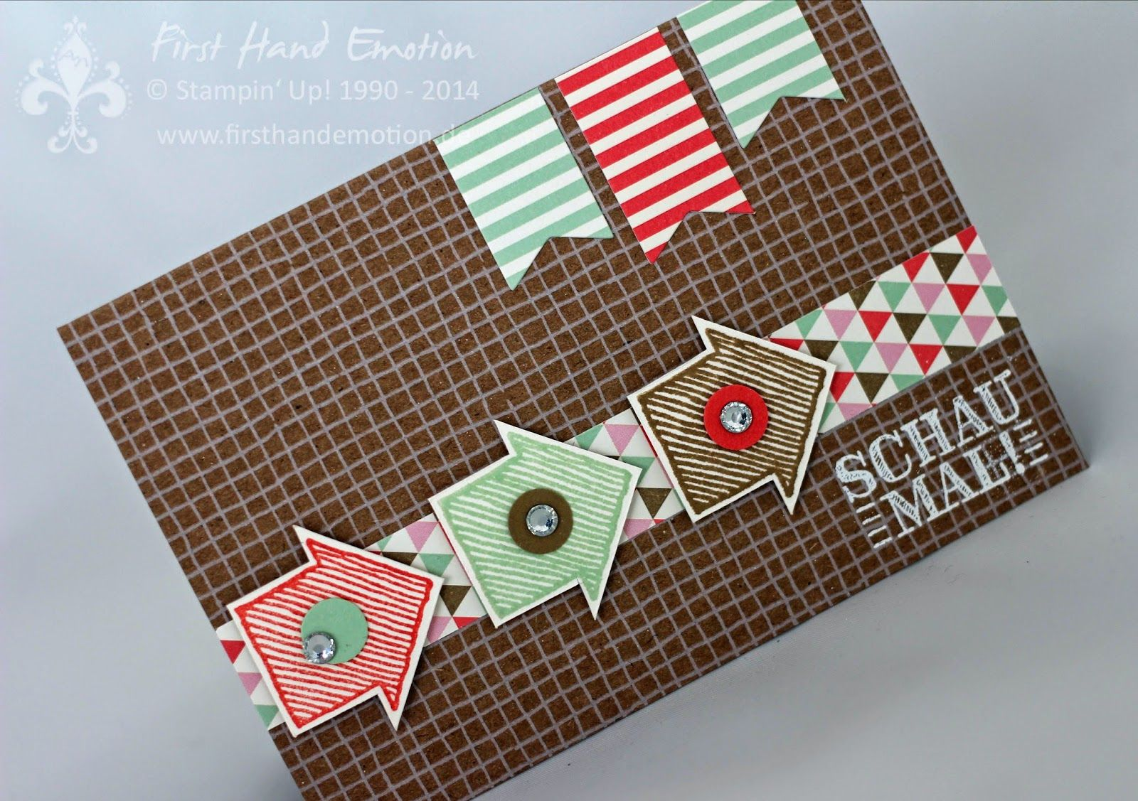 Stampin' Up! by First Hand Emotion: IN{K}SPIRE_me Challenge #149