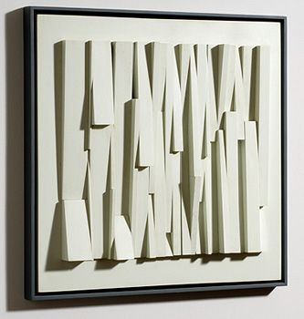 Constructed Relief # 38 by David Barr