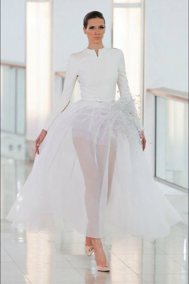 Wedding gown inspired