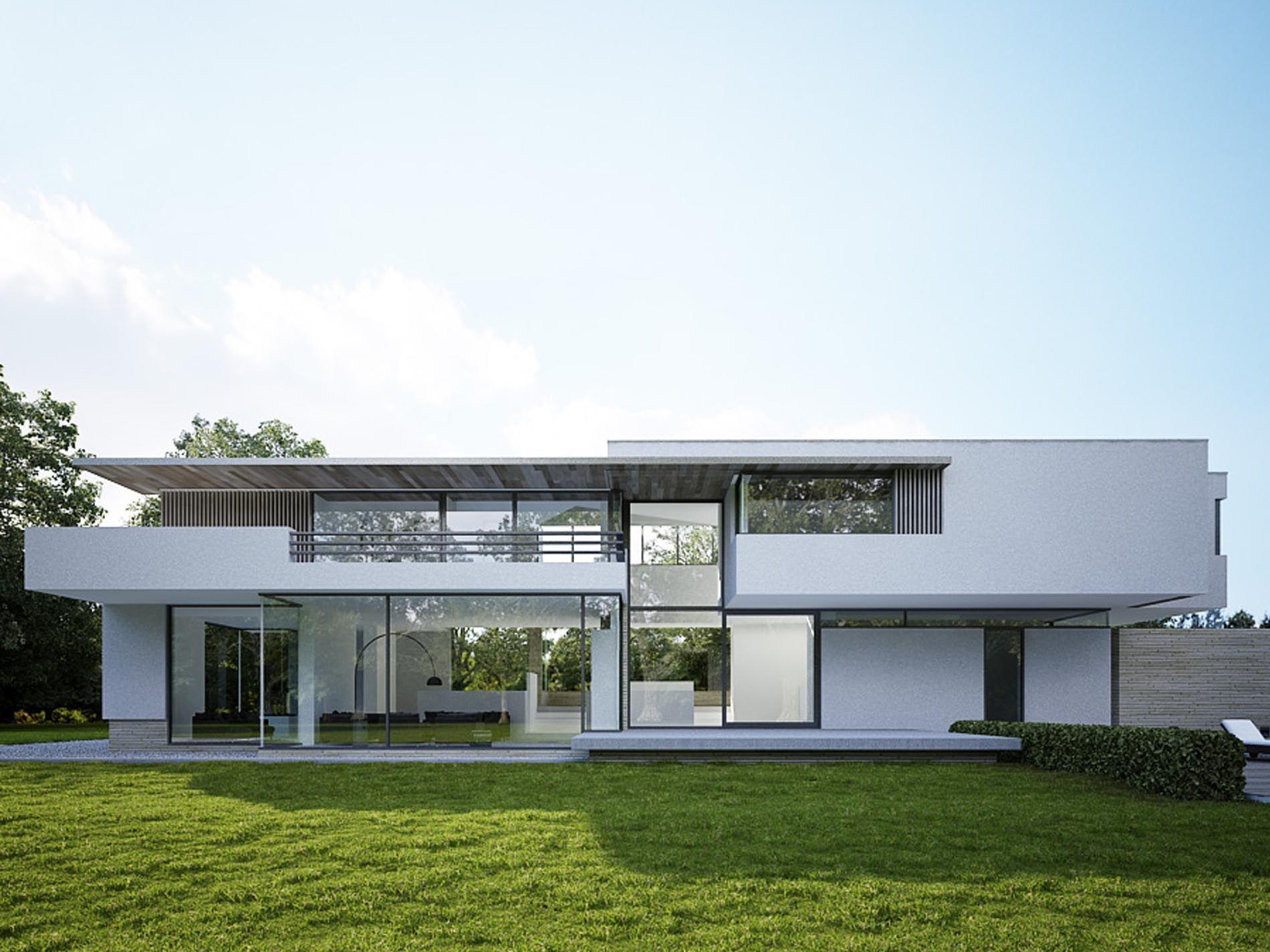 Maas architecten woonhuis lochem architectuur haus for Hedendaagse architecten