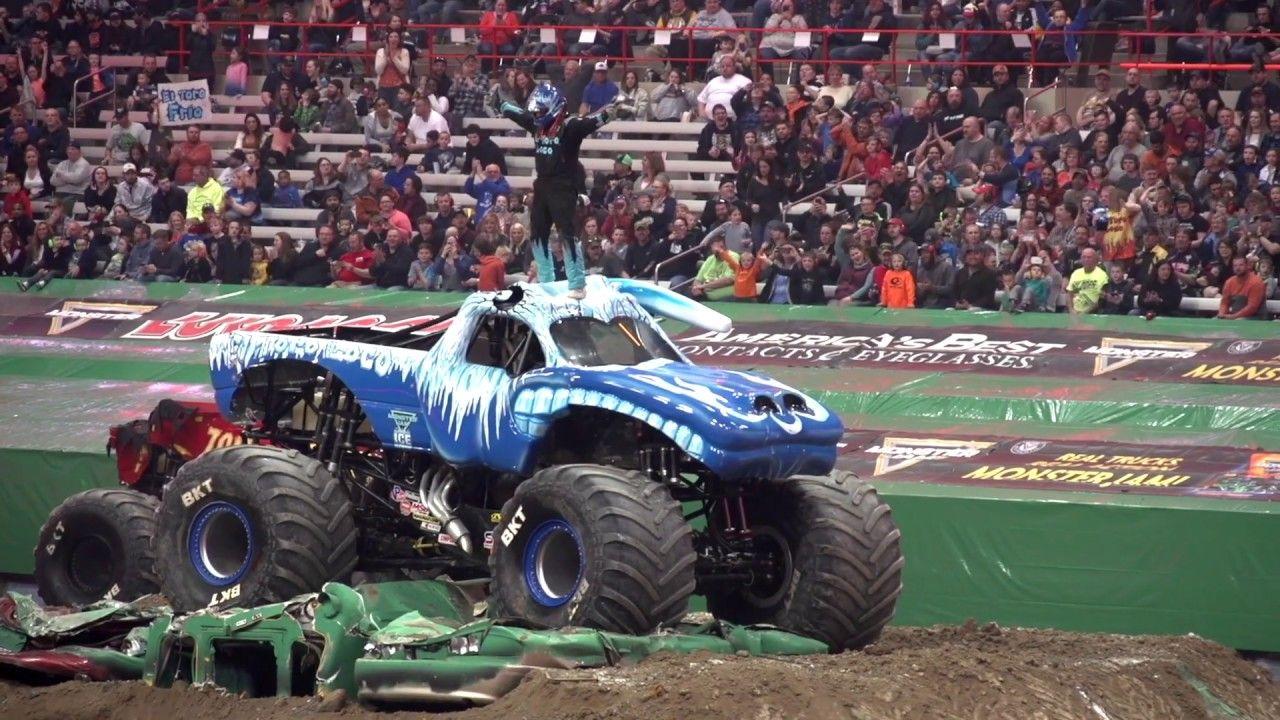 El Toro Loco Ice Freestyle Monster Jam Syracuse 2019 Monster Jam Monster Trucks Freestyle