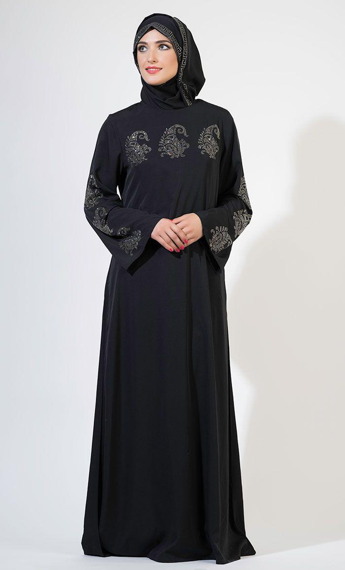 Crystal Abaya Set Abaya Fashion ba80ccf2dc93