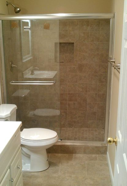 Another Bath Remodel Took Out The Bathtub And Installed A Stand Up Shower Bathroom Stand Bathtub Remodel Shower Remodel