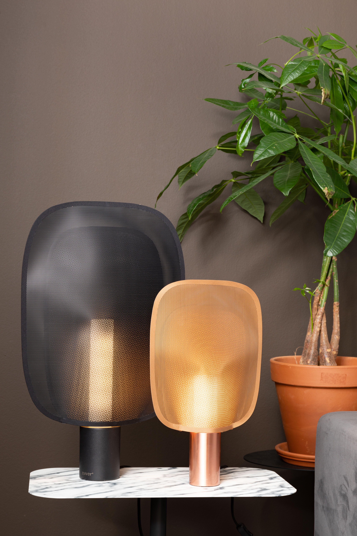 Zuiver Tafellamp Mai Creeert Een Sprankelend Lichteffect Zoals