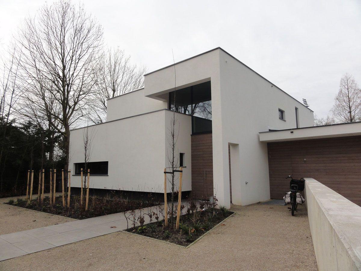 Moderne woning met kelder aan de hescheweg te oss for Huizen moderne stijl
