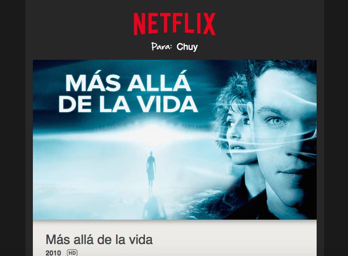 De nuevo aquí con las mejores recomendaciones según mi perfil de Netflix ¿Quieres conocerlas?