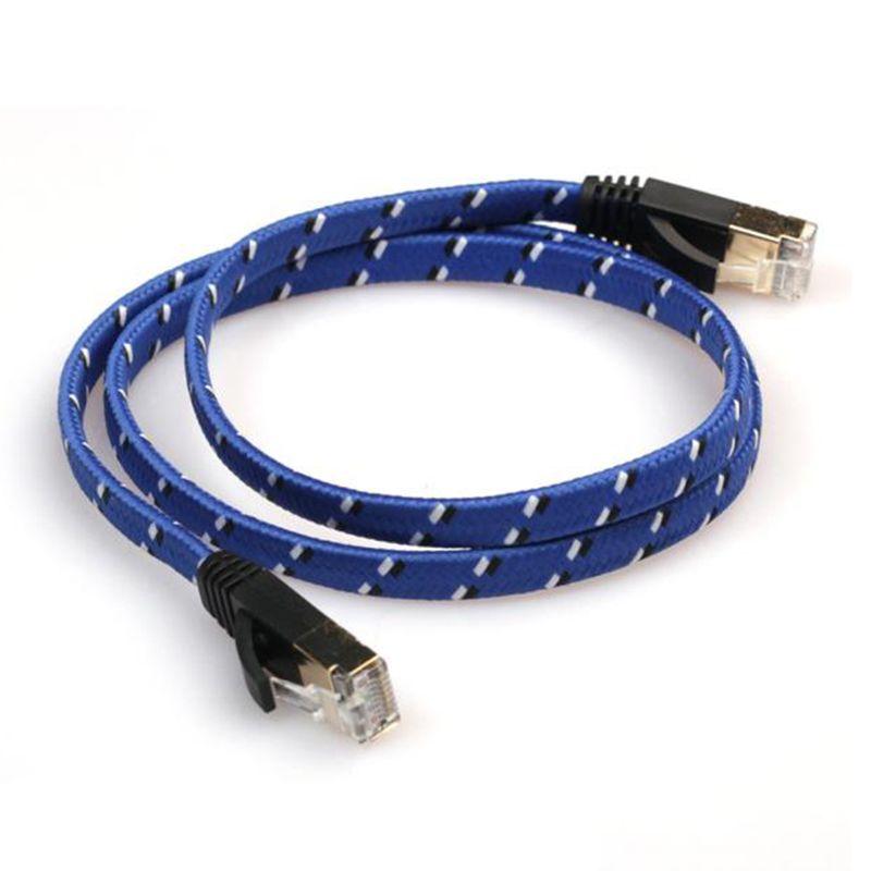 Cat 7 Lan Network 10 Gigabit Modem Router Weave Ethernet Cable 0 5m Cable Modem Router Modem Router Ethernet Cable
