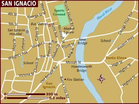 map san ignacio belize Belize Map Of San Ignatio Theresamf San Ignacio San Ignacio map san ignacio belize