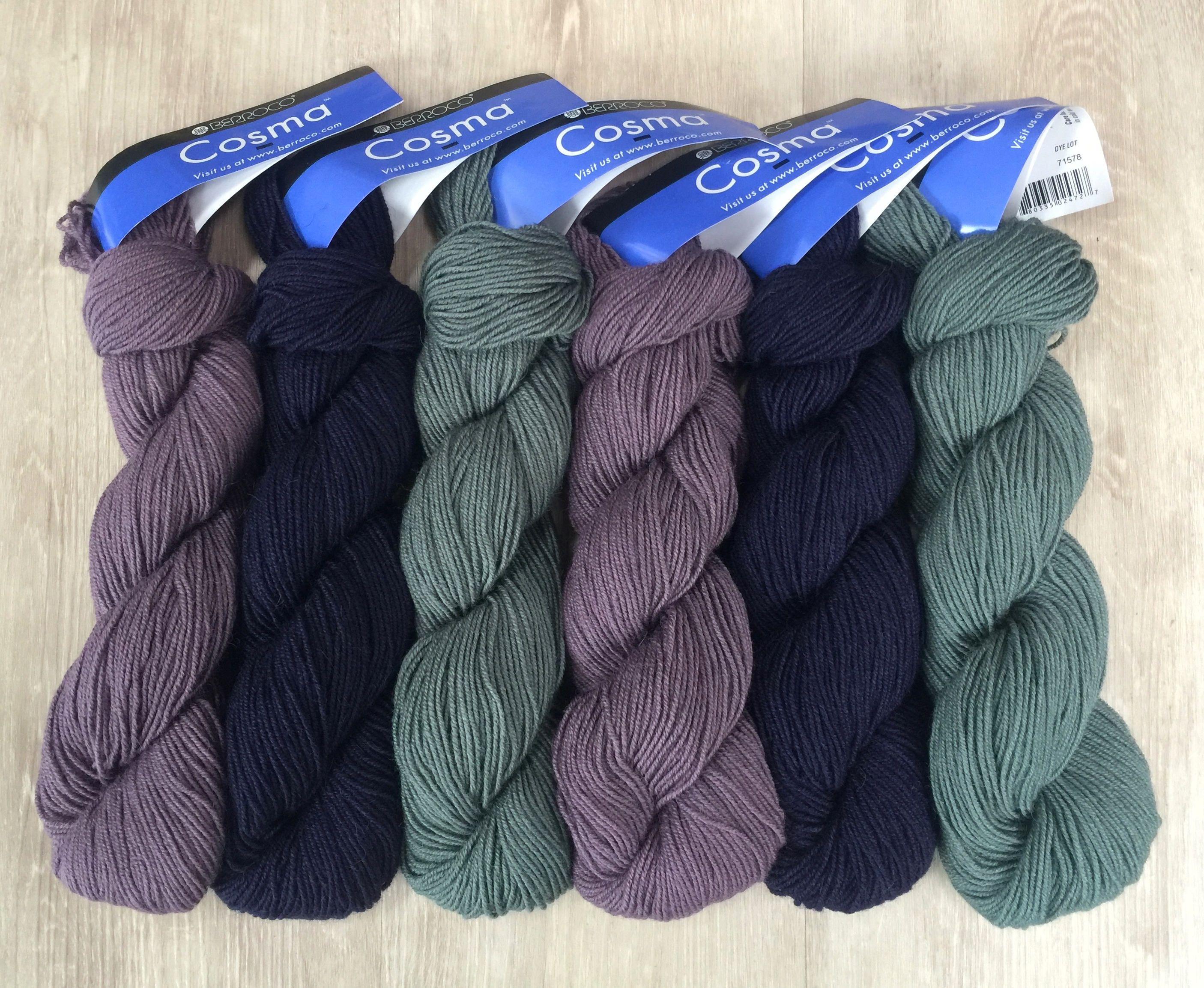 Berroco COSMA 10.50 +.75ea Ship Alpaca Wool Silk Sport Yarn Willow ...