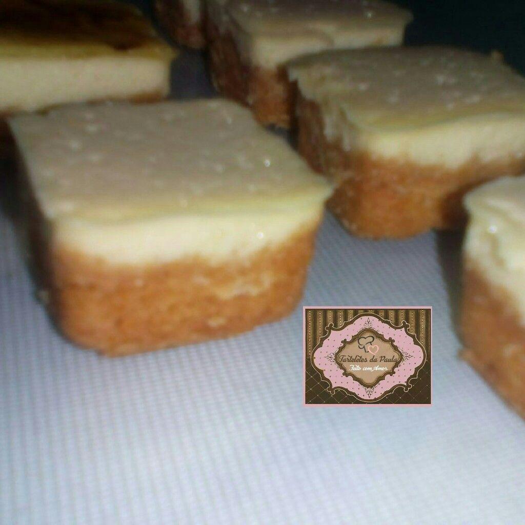 Tortinha de creme brulée.by tarteletes da Paula.