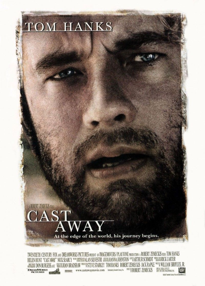 Cast Away 2000 Tom Hanks Helen Hunt Film