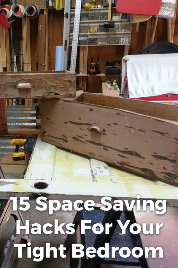 Space Saving Teens Bedroom Furniture: 15 Space Saving Hacks For Your Tight Bedroom