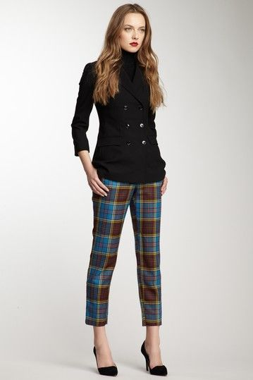 D & G Plaid Trouser