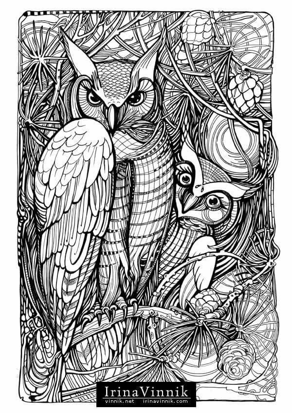 Pin de Patricia Ann Walker en Adult Coloring Book Pages | Pinterest ...