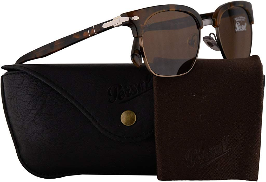 628fb5410bdc9 Amazon.com  Persol PO3199S Tailoring Edition Sunglasses Tortoise Dark Brown  w Brown Lens 53mm 107333 PO 3199-S PO3199-S PO 3199S  Clothing