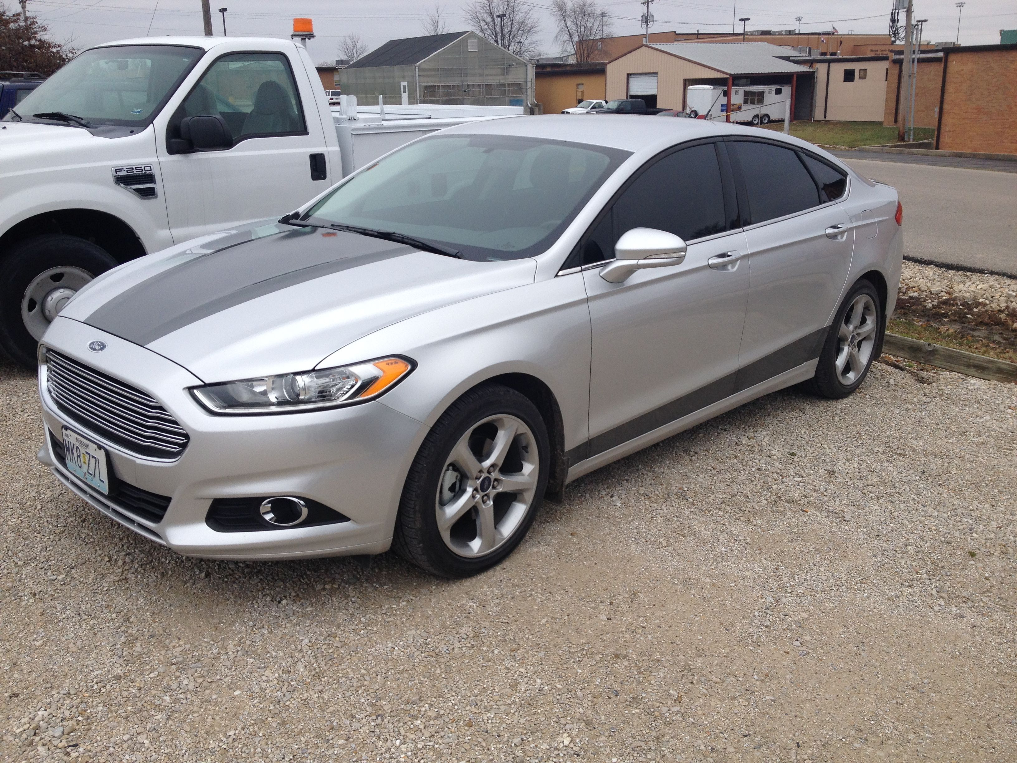 2015 ford fusion graphics simple big impact