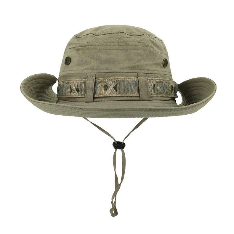 06aaabbca4c Tactical Sniper Hat Army Boonie Hat UV Sun Protection Summer Travel Hat  Men s Military Desert Hat Tactical Headwear - 2 Colors