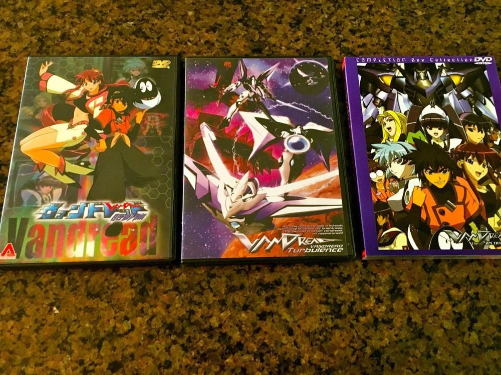 ANIME JAPANESE ORIGINALVANDREAD 4 DVDS ENGLISH