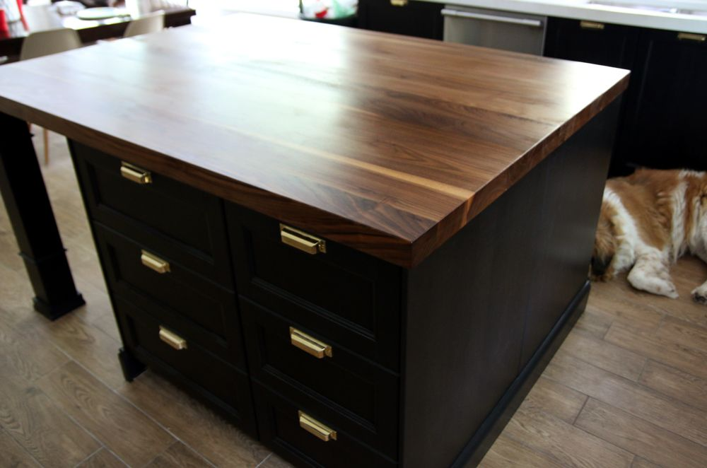 Customizing Our Ikea Kitchen Island  Walnut Butcher Block Gorgeous Butcher Block Kitchen Island Review