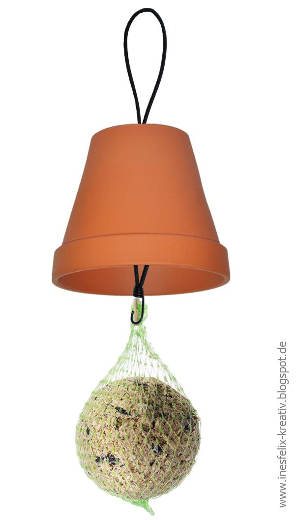 ines felix kreatives zum nachmachen meisenkn del im topf vogelhaus pinterest basteln. Black Bedroom Furniture Sets. Home Design Ideas
