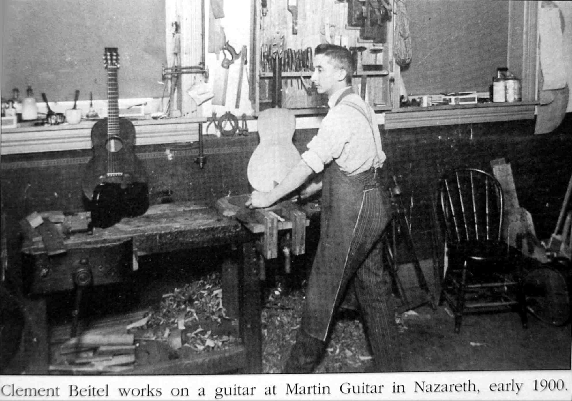Clement Beitel At The Martin Guitar Factory Martin Guitar Vintage Martin Guitars Indie Movies