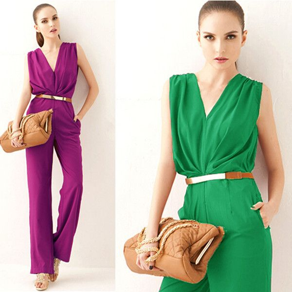 US $17.57 / piece 5 days left Cheap pant suits for brides, Buy Quality romper shorts directly from China romper suit Suppliers: Description: Elegant Wide Leg Jumpsuit Skirt OL Plus Size Sleeveless P