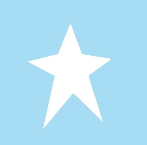 "PRIMITIVE STARS STENCIL STAR CELESTIAL STENCILS TEMPLATE PAINT ART NEW 6/"" X 5/"""