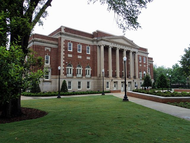 University Of Alabama Foster Auditorium University Of Alabama Sweet Home Alabama University Of Alabama Tuscaloosa