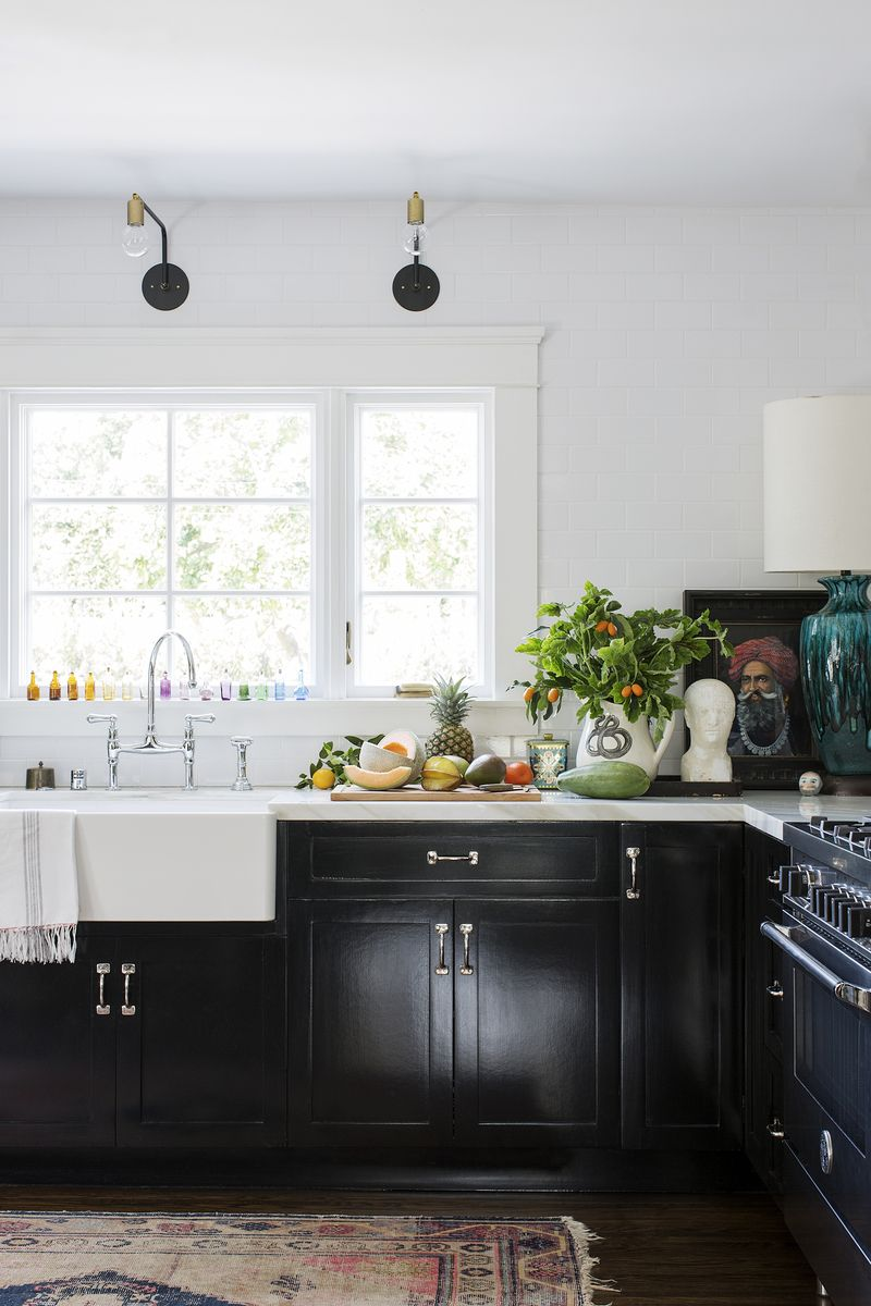 Bohemian Kitchen in Los Angeles, CA by Kishani Perera cottage ...