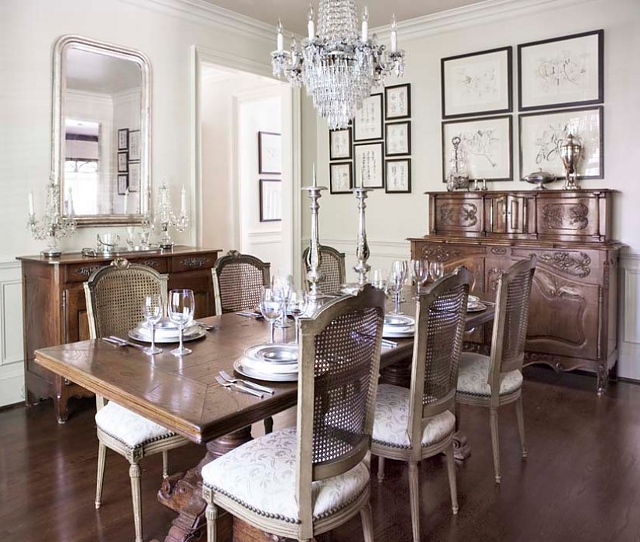 Design619740 Dining Room in French Country French Inspired – Dining Room in French