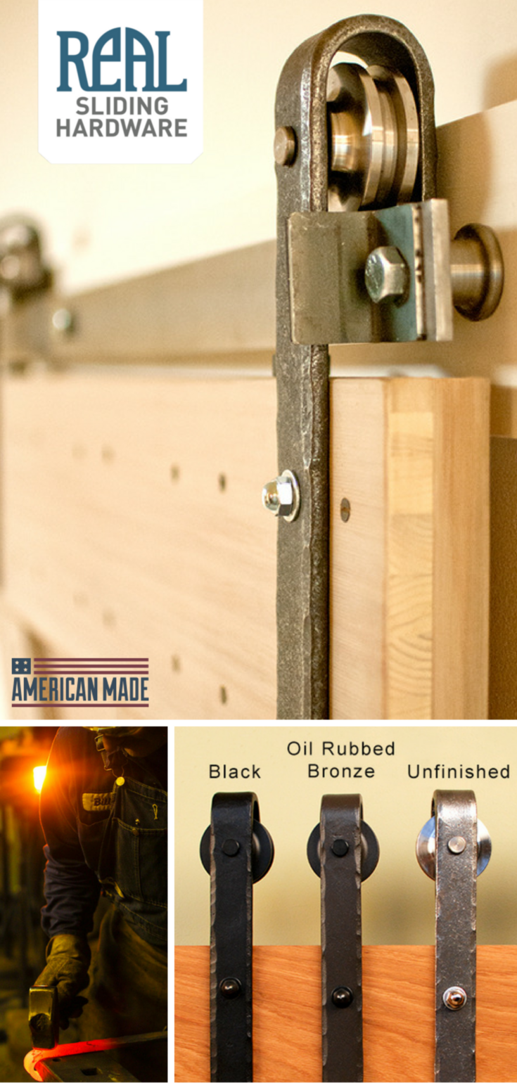 Hammered Metal Barn Door Track Hardware Diy Barn Door Hardware Industrial Barn Door Barn Door