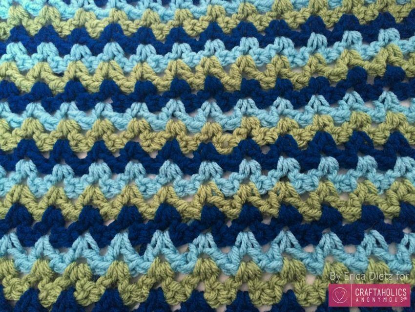 Easy Crochet Baby Blanket | crochet | Pinterest | Galerías y Tejido