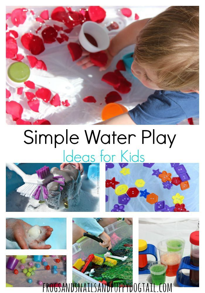 Ideas For Kids Bedroom: Simple Water Play Ideas For Kids