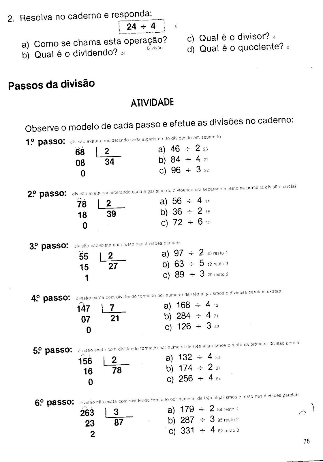 Passos da diviso matematica 1 2 pinterest math kids letters passos da diviso matematica 1 2 pinterest math kids letters and fun learning fandeluxe Images