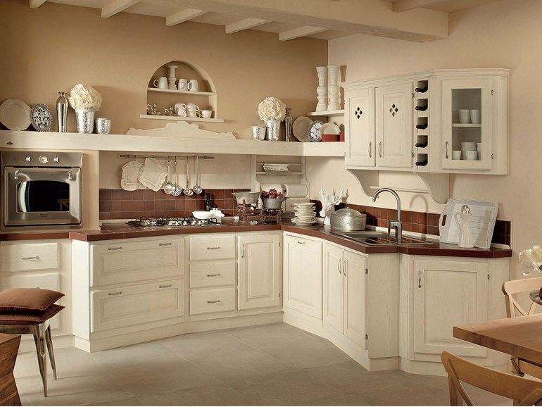 Cucina in legno massello sogno di oggi bianco collezione sogno di oggi by zappalorto design - Sogno in cucina ...