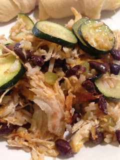 Black Bean and Chicken Casserole images