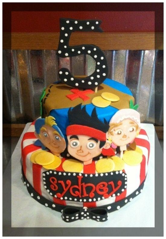 Phenomenal Pirate Birthday Party Cake Pirate Birthday Party Ideas Jake Personalised Birthday Cards Fashionlily Jamesorg