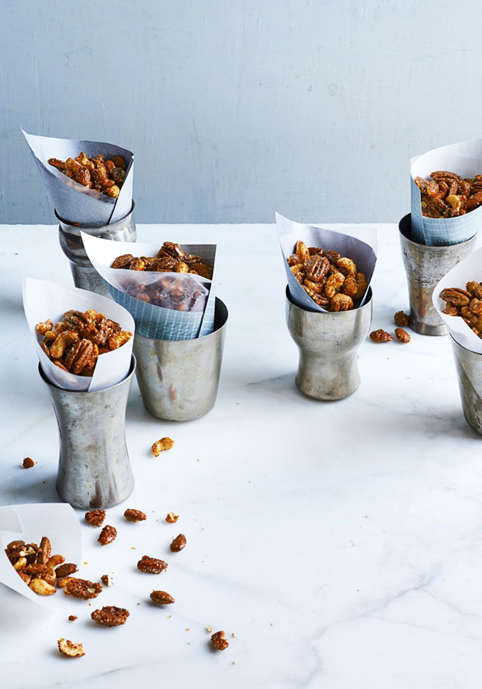 Spicy Candied Nuts Recipe