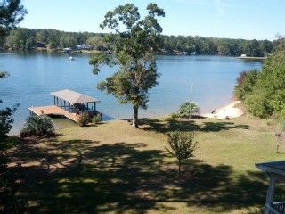 Lake Sinclair House Al Front With Spectacular View Clear Water And Sandy Beach Homeaway