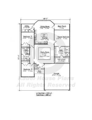 Wisteria Zero Lot House Plans Louisiana House Plans House Plans How To Plan House Plans One Story