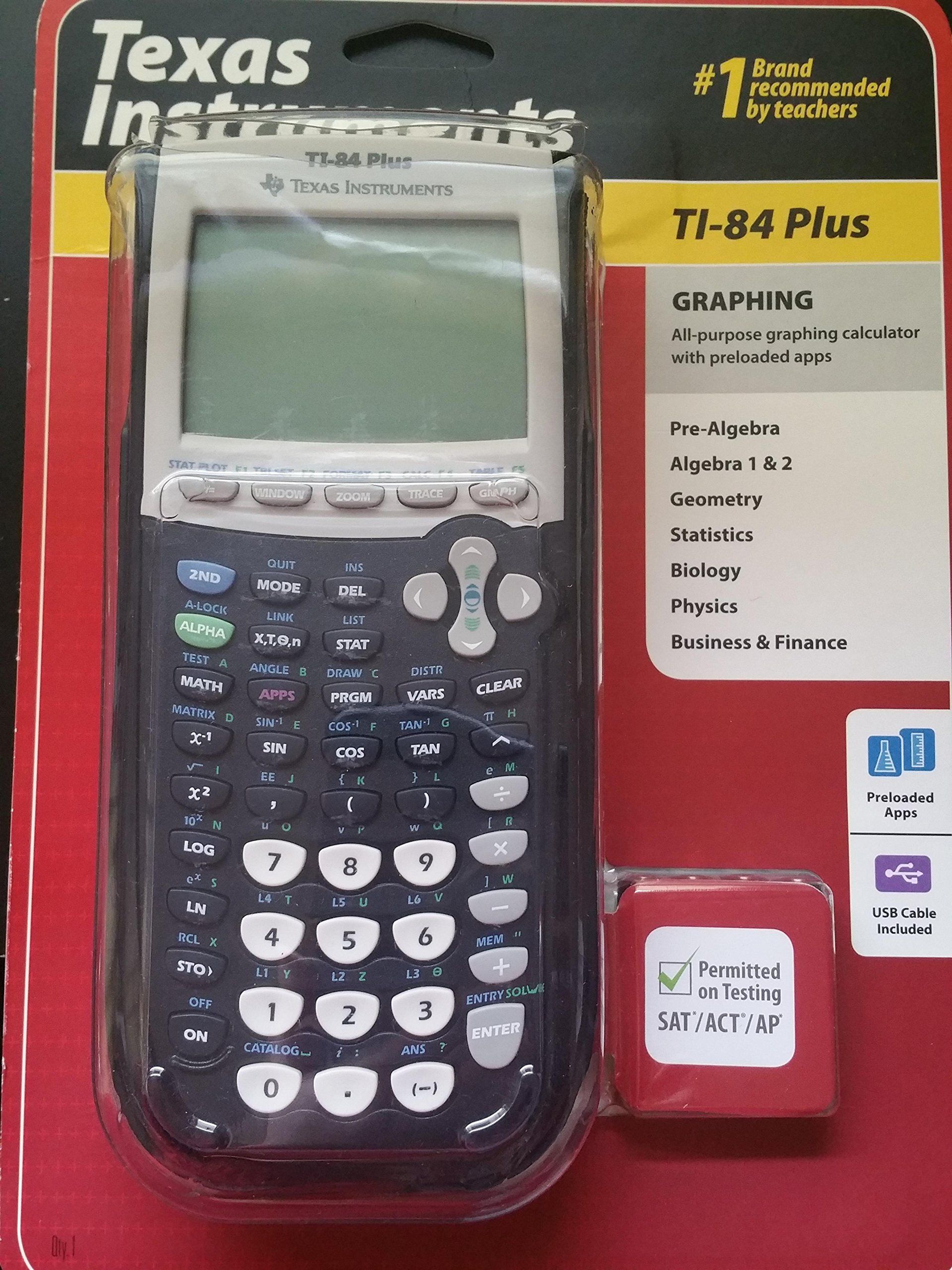 Texas Instruments Ti 84 Plus Calculator Graphing Calculator Calculator Graphing